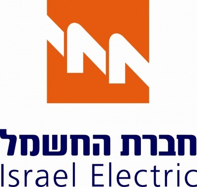 Logo de la compagnie d'électricité Hevrat Hechmal en Israël
