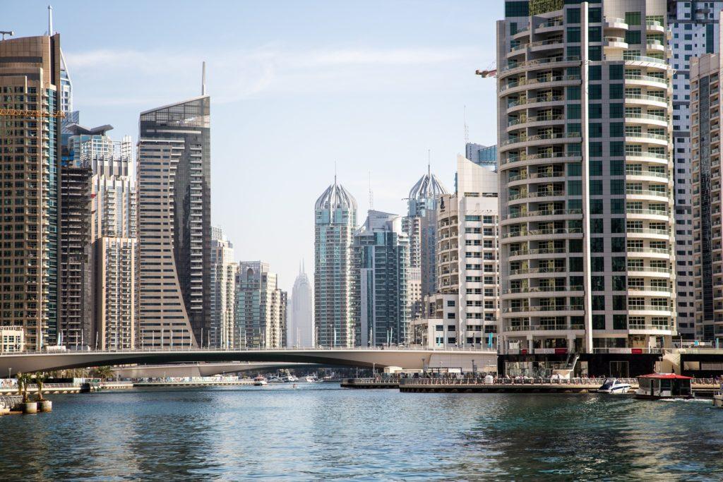 Photo ville Dubaï et ses habitations